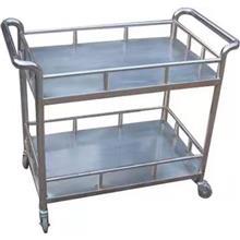 厂家直供不锈钢厨房送餐车 不锈钢手推餐车 可定制 天津翔宇正达批发