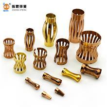 现货供应冠簧 爪簧 香蕉鼓簧 铜卡爪 定位爪 灯笼花鼓形弹簧 非标 可以定制