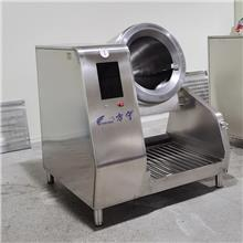 中国制造智能炒菜机老外都会做中餐