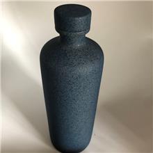 玻璃工艺品厂家供应 喷涂白酒酒瓶销售
