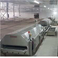 厂家现货液氮速冻机_隧道式液氮速冻机_海产品低温速冻设备