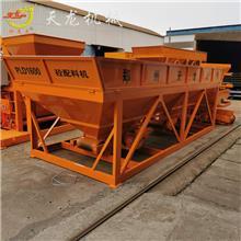 50吨卧式水泥仓 工程建筑搅拌站用方型储料仓 混凝土配料机自动化称量机设备