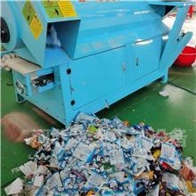 过期面包破碎分离一体机 方便面粉碎分离机 临期饼干蛋糕粉碎机