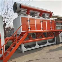 大型活动喷漆房的废气处理办法用催化燃烧净化处理效率好