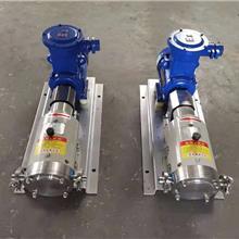 高粘度自吸泵 聚合物料输送泵 聚氨酯多元醇泵 3rp凸轮转子泵 河北金海泵业