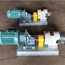 食品转子泵 丸子馅料输送泵 不锈钢高粘度泵 3rp不锈钢转子泵 河北金海泵业