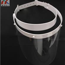 工厂直销PET防护面罩防飞沫保护面罩 防雾防尘个人防护面罩透明