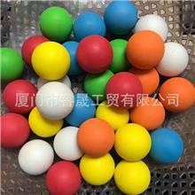 厂家生产EVA海绵球 EVA健身按摩球 带孔eva球 筋膜枪按摩球加工