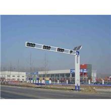 厂家直供交通路口L型T型信号灯杆  道路警示LED指示灯  安全红绿灯 华盛新能源