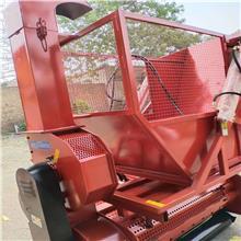 秸秆方捆捡拾装车机 牧草方捆装车运输设备 稻草方捆回收机