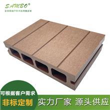 厂家批发户外竹地板 森保 户外庭院别墅塑木地板 公园庭院露台地板