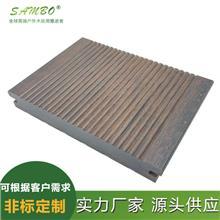 厂家供应户外竹地板 户外庭院木塑地板 森保塑木 别墅塑木地板