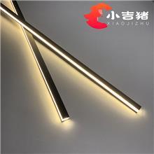 超窄LED线条灯  衣柜橱柜嵌入式灯带 新款上市 硅胶条灯罩 工程装饰灯带