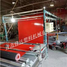 双色喷丝地垫生产线 PVC双色喷丝汽车脚垫设备 PVC喷丝防滑垫地垫设备