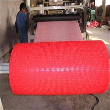 宝丽美双色喷丝地垫生产线 PVC双色喷丝汽车脚垫设备 喷丝防滑垫地垫设备