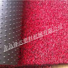厂家生产制造PVC双色喷丝汽车脚垫设备 PVC喷丝防滑垫地垫设备
