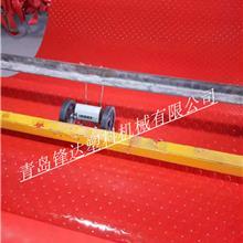 青岛锋达生产双色喷丝汽车脚垫设备 喷丝防滑垫地垫生产设备