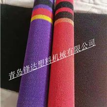 厂家生产制造PVC双色喷丝汽车脚垫S设备PVC喷丝防滑垫地垫设备