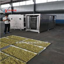 咖啡用真空冷冻干燥机 天麻灵芝低温冻干设备 真空冻干设备 利宇机械