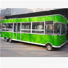 摆摊夜市四轮餐车 商用手推餐车 流动快餐车 电动三轮早餐车 多功能三轮餐车