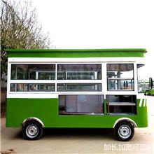 移动新能源多功能小吃房车 电动四轮早餐车 手推餐车