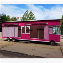 手推餐车  移动新能源多功能小吃房车 电动四轮早餐车