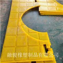 钻井平台用聚氨酯防滑垫 海上油田防滑板 ZP375/ZP275减震板定制