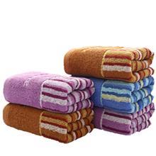 洁丽雅毛巾8471加厚强吸水条纹毛巾面巾礼品批发厂家直销