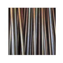 厂家生产 国标镀彩锌丝杠 彩锌牙条 全扣丝杆 全牙螺杆 全扣牙条