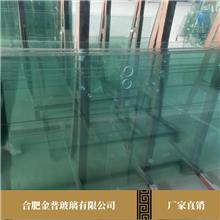 直供幕墙夹胶玻璃 金普玻璃采用大厂原片 防爆钢化玻璃 报价较低 质量高