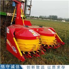 玉米秸秆收割机 转盘式割台青储机 秸秆青贮收获机 产地货源