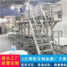 大型千张机械生产线 厚薄可调豆腐皮机械设备 厂家直销仿手工千张机器