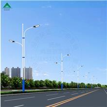 厂家定制LED户外灯具10米双臂市电路灯杆双联杆