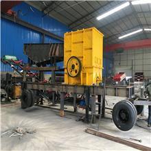云南矿用破碎机 可移动式碎石机 多功能石灰石破碎站 油电两用 厂家现货