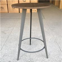 重庆粤菜馆铁艺中餐椅