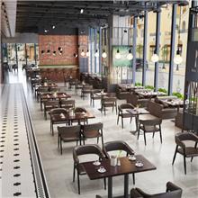 中山西餐厅咖啡厅卡座沙发组合