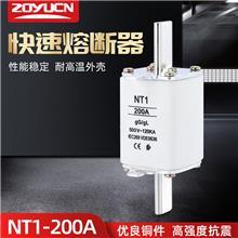 中宇低压熔断器NT1 200A熔芯熔断器芯子陶瓷保险丝RT16-1 熔芯