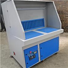 打磨除尘工作台 抛光吸尘柜多功能净化工作台 石材粉尘工业脉冲环保设备 实恒环保