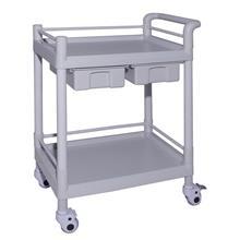 手推车美容院护士移动多功能abs医用小推车置物架治疗护理器械车