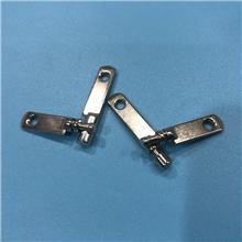 工厂铍青铜弹片 弹性耐疲劳的铍青铜导电弹片 镀金金属五金片 插座配件