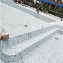 喷水池阴阳角配件玻璃护角 防滑安全陶瓷三通圆角厂家