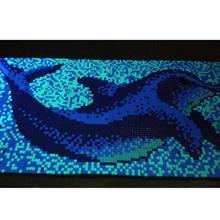浪漫夜光马赛克 泳池吧台ktv荧光马赛克 厂家定做发光马赛克