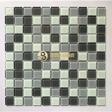 酒店工程玻璃马赛克瓷砖 拼花水晶马赛克 室内墙砖马赛克瓷砖