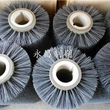 供应磨料丝刷辊 永昌制刷 抛光刷辊 金属抛光磨料刷辊  氧化铝磨料刷辊 来图定做