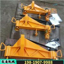 铁路钢轨液压弯道器 轨道设备液压弯轨器 液压水平双钩弯轨机
