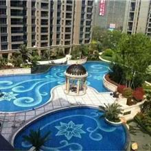 聊城 泳池陶瓷马赛克 瓷砖拼花定做 蓝色浴池水池鱼池 室外耐磨砖