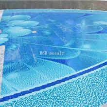 上海 创意马赛克砖拼图 个性定制陶瓷马赛克拼花 防滑耐磨砖