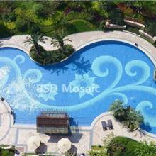 地中海 陶瓷砖定制 游泳池马赛克拼花 水池瓷砖 户外防滑砖