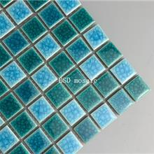重庆 陶瓷裂纹砖 游泳池马赛克瓷砖 户外水池鱼池 室外防滑砖