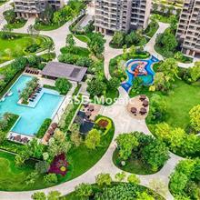 上海楼盘小区 室外游泳池马赛克定制 纯色铺陶瓷砖 耐磨防滑砖
